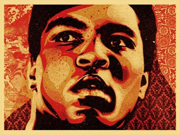 SHEPARD FAIREY Muhammad Ali, 2006